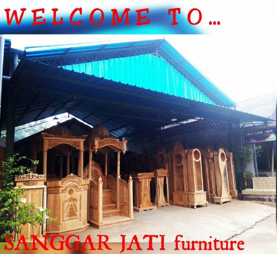 toko sanggar jati furniture jepara