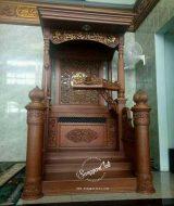 mimbar masjid mewah klasik mimbar masjid murah